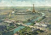 EXPOSITION UNIVERSELLE de PARIS en 1900