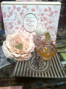 PARFUM Clair de Rose