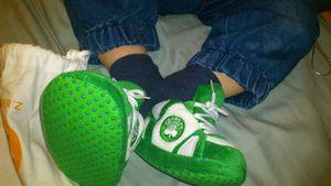 Un Lyonnais en Vert et Blanc avec mes Nouveaux Chaussons Sleeperz !