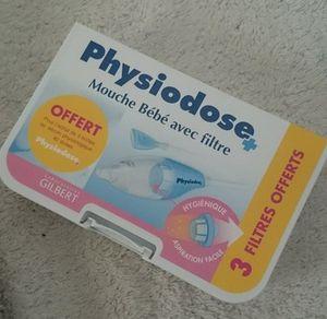 Physiodose : Découvrez un mouche bébé tout doux pour le nez de Bébé !
