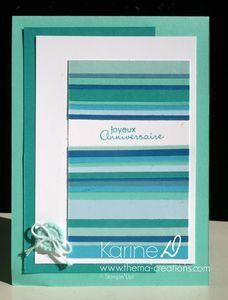 Carte camaïeu de bleus : Copacabana ou baie des Bermudes ?