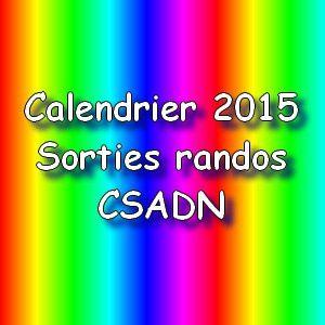 CALENDRIER RANDOS 2015