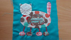 Patch Crazy Cats -2