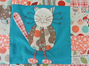 Patch Crazy Cats -7