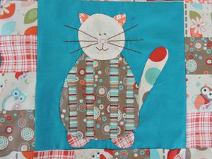 Patch Crazy Cats -12