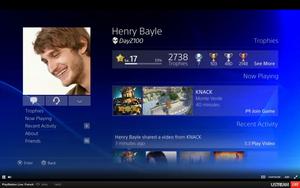 E3 2013 : Présentation de l'interface Playstation 4
