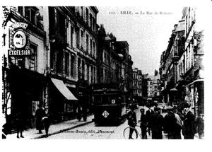 lille premiers tramways