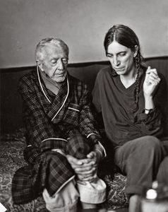 Patti Smith and Paul Bowles in Tangier, 1997