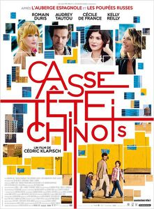 &quot&#x3B;Casse-tête chinois&quot&#x3B;, de Cédric Klapisch: la fin d'une trilogie...ou pas!
