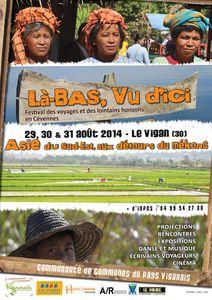 Rendez-vous d'été 2014 : Festival au Caylar (34) - Salon du livre de l'Ile de Ré (17) - Festival au Vigan (30)