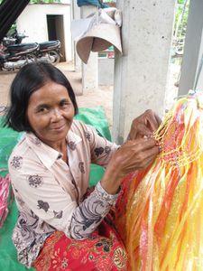 Formation à la confection de sacs tressés pour les producteurs de SHAPE