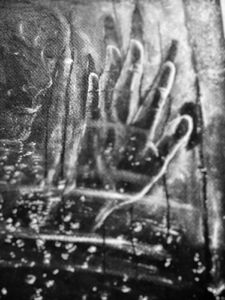 pluie , froid , pleurs , attente