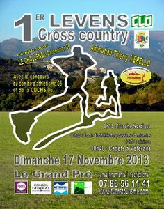 1er Cross Country à Levens