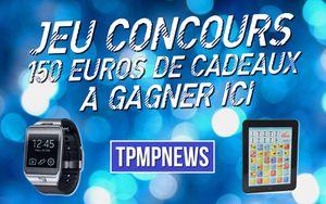 JEU CONCOURS A l'occasion des TPMP AWARDS, tentez de gagner 150€ de cadeaux !
