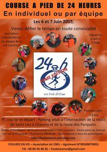 24 Heures en Val d'Oise 2015 : 6 &amp&#x3B; 7 JUIN 2015 (J-77)
