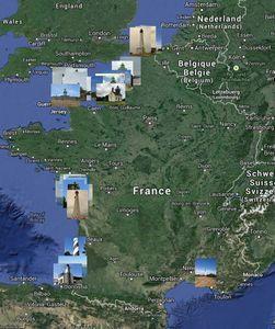 Portail des phares Français