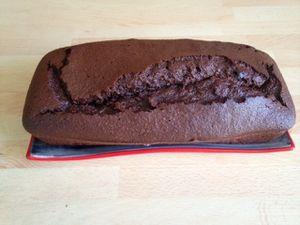 Cake au chocolat avec Momix