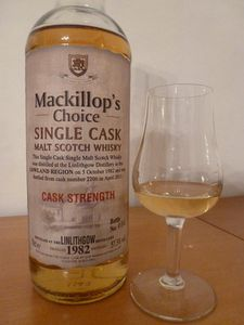 Linlithgow 1982/2011 (28 ans) MacKillop's Choice, IB, 57.3%