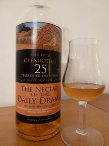 Glenrothes 25 ans The Nectar of the Daily Drams, IB, 50.6%