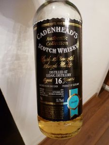 Ledaig 16 ans Cadenhead's Authentic Collection 1993/2009, IB, 55.7%
