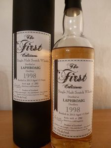Laphroaig 1998 (15ans) The First Editions, 59.1% (IB)