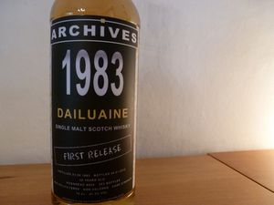 Dailuaine 1983 Archives, 47.3% (IB)