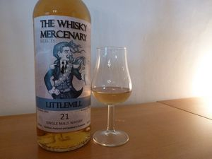 Littlemill 21 ans The Whisky Mercenary 1992/2014, 52.9%