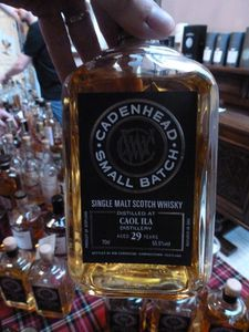 Caol Ila 29 ans Cadenhead Small Batch, 55.5%