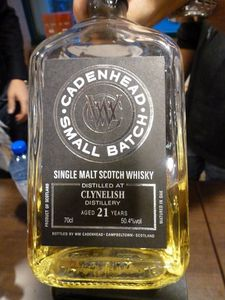 Quadriptyque Clynelish, volet 2 : 21 ans Cadenhead's Small Batch pour The Nectar, 50.4%