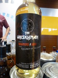 Bowmore 2003/2014 The Whiskyman ''Children of the Dramned'', 47.6%