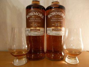 Bowmore 15 ans Laimrig (Batch 4), 54.1% (OB)
