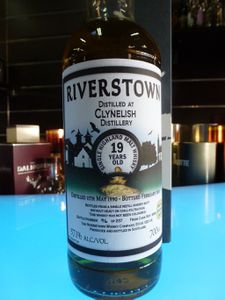 Rectificatif : Clynelish 19 ans Riverstown, 1990/2010, 57.1%