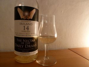 Dossier ''irlandais'', volet 4 : quatre The Nectar of the Daily Drams (12 ans, 14 ans, 22 ans, et 23 ans ''Peated'')