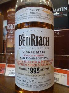 BenRiach 1995/2015 pour Premium Spirits, Madeira Hogshead, 54.7% (OB)
