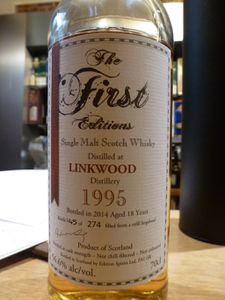 Linkwood 1995/2014 The First Editions, 56.6%
