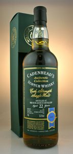 Bruichladdich 22 ans Cadenhead's Authentic Collection, 1992/2015, 53.3%