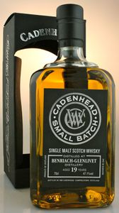 BenRiach 19 ans Cadenhead's Small Batch, 1996/2015, 47.1%