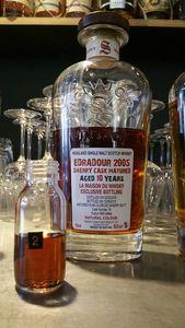 Edradour 10 ans Signatory Vintage pour La Maison du Whisky, 2005/2015, 58.8%