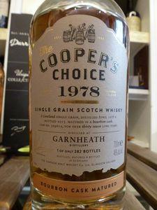 Garnheath 1978/2015 Cooper's Choice, 37 ans, 46%