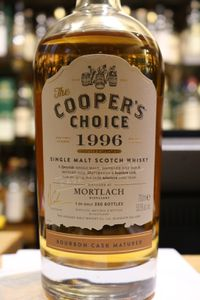 Mortlach 1995/2015 Cooper's Choice, 19 ans, 53.5%