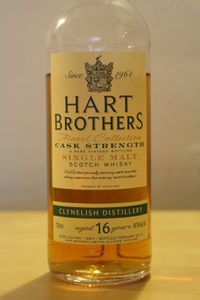 Clynelish 16 ans Hart Brothers, 1997/2014, 54.7%