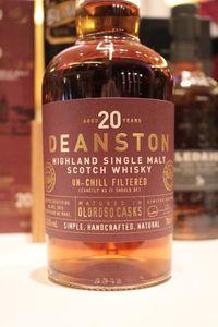 Deanston 20 ans, Oloroso Sherry Casks, 55.3%, 8400 bouteilles (OB)
