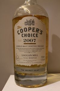 Laggan Mill 2007/2016 The Cooper's Choice, 8 ans, 54.5%