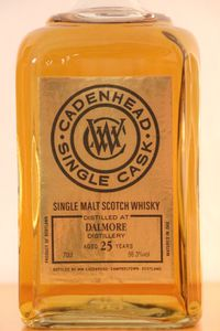 Dalmore 25 ans Cadenhead's Single Cask, 1990/2016, 56.3%