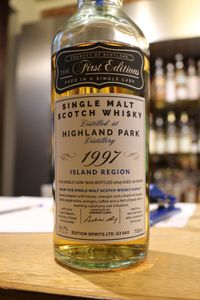 Highland Park 1997/2015 The First Editions, 18 ans, 56.7%