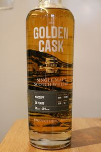Macduff 35 ans The Golden Cask, 1980/2015, 49.1%