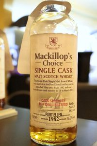 Port Ellen 1982/2014 MacKillop's Choice, 56.2%