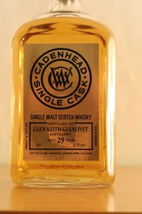 Glen Keith 29 ans Cadenhead's Single Cask, 1985/2014, 47.5%