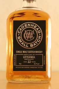 Littlemill 22 ans Cadenhead's Small Batch, 1992/2014, 53.7%