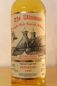 Clynelish 1991/2014 The Ultimate, 23 ans, 46%